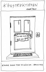 Glück vor der Tür